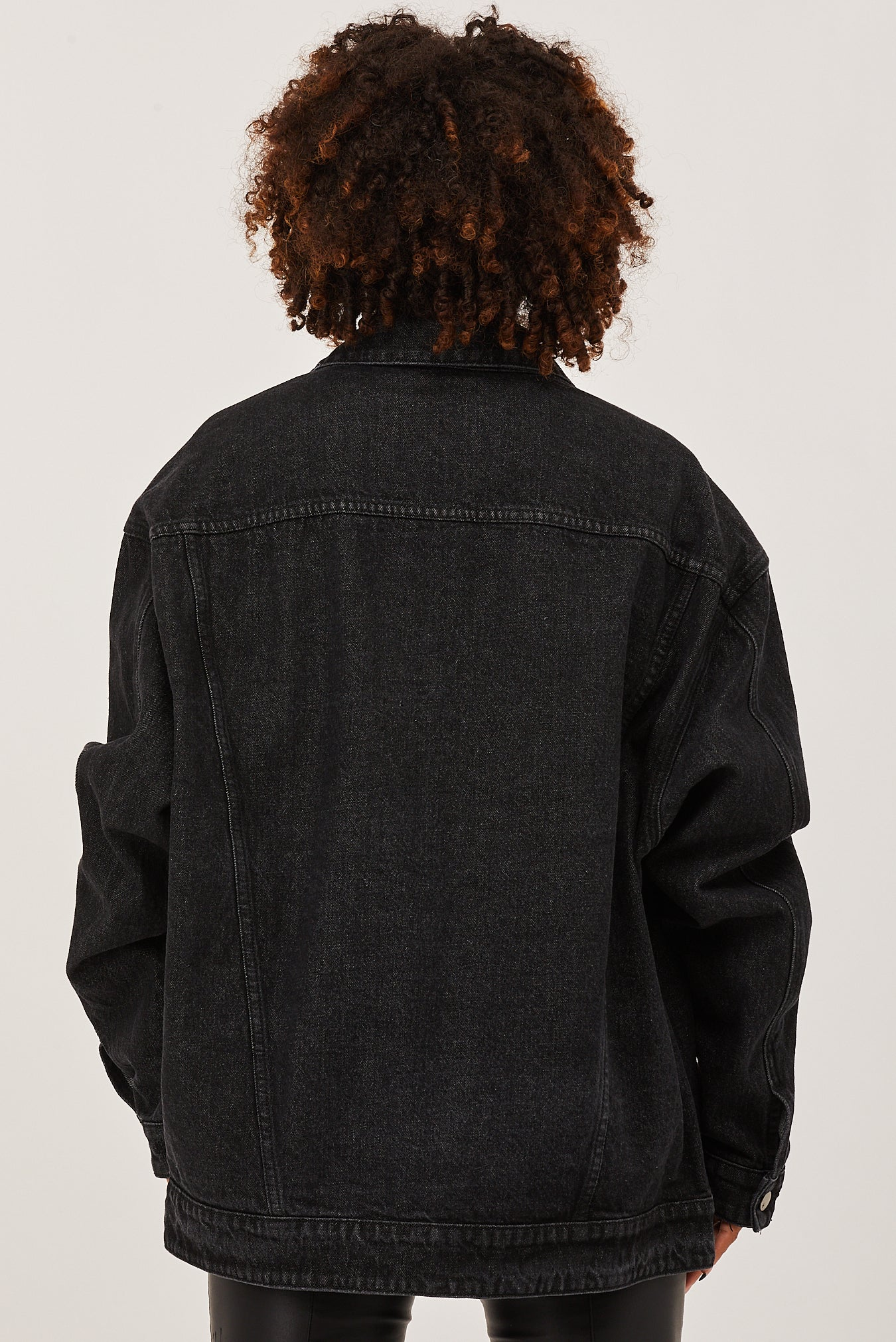 Federation Blown Out Jacket washed black